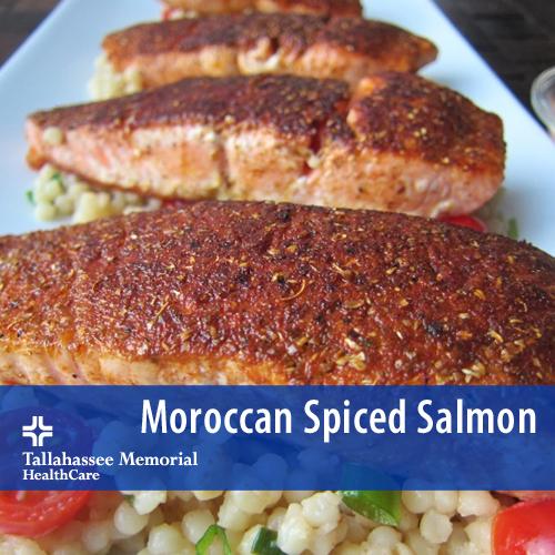 Moroccan Spiced Salmon