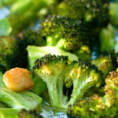 Blistered Broccoli with Garlic and Chiles