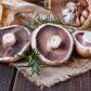 Mushroom & Egg Bake